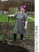 Купить «Весенние хлопоты на даче», фото № 1674406, снято 2 мая 2010 г. (c) Васильева Татьяна / Фотобанк Лори