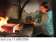 Купить «Куй пока горячо», фото № 1680058, снято 17 апреля 2010 г. (c) Екатерина Афанасьева / Фотобанк Лори