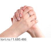 Купить «Жест двумя руками», фото № 1680486, снято 5 мая 2010 г. (c) Момотюк Сергей / Фотобанк Лори