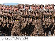 Купить «На марше вооруженные силы Армении. Парад победы, 9 мая 2010 года. Москва, Россия.», фото № 1688534, снято 9 мая 2010 г. (c) Алексей Зарубин / Фотобанк Лори