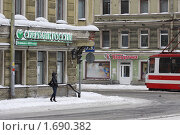 Купить «Санкт-Петербург зимним днем», эксклюзивное фото № 1690382, снято 22 февраля 2010 г. (c) Дмитрий Неумоин / Фотобанк Лори