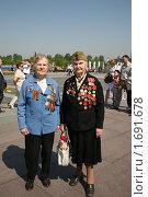 Купить «Участницы  Великой Отечественной войны», фото № 1691678, снято 8 мая 2010 г. (c) Наталья Волкова / Фотобанк Лори