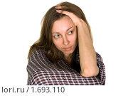 Девушка в депрессии. Стоковое фото, фотограф Оксана Якупова / Фотобанк Лори