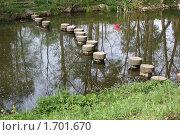 Купить «Мостки через речку», фото № 1701670, снято 8 мая 2010 г. (c) Игорь Веснинов / Фотобанк Лори