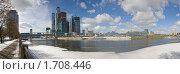 Купить «Москва Сити», фото № 1708446, снято 22 марта 2009 г. (c) Юрий Анохин / Фотобанк Лори
