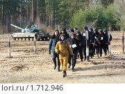 Танкисты (2008 год). Редакционное фото, фотограф Иван Нестеров / Фотобанк Лори