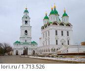 Купить «Астраханский кремль», фото № 1713526, снято 23 февраля 2010 г. (c) Золотовская Любовь / Фотобанк Лори