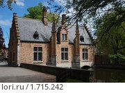 Купить «Брюгге. Старый дом», фото № 1715242, снято 10 мая 2010 г. (c) Maria Kuryleva / Фотобанк Лори