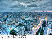 Купить «Город под стальной стрелой», фото № 1715970, снято 4 августа 2009 г. (c) Kremchik / Фотобанк Лори
