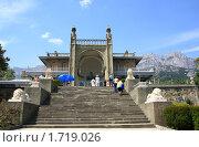 Вид на южные террасы Воронцовского дворца (2010 год). Редакционное фото, фотограф Кирилл Губа / Фотобанк Лори