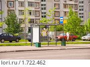 Остановка автобуса. Редакционное фото, фотограф Светлана Силецкая / Фотобанк Лори
