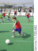 Купить «Мини-футбол», фото № 1725682, снято 21 мая 2009 г. (c) Юрий Каркавцев / Фотобанк Лори