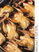 Перепела печеные, эксклюзивное фото № 1727570, снято 24 мая 2010 г. (c) Лисовская Наталья / Фотобанк Лори