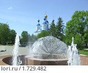 Мужской монастырь, город Тамбов. Стоковое фото, фотограф Александр Малашко / Фотобанк Лори