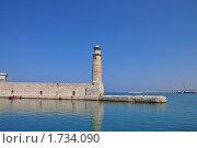 Старинный маяк. Крит. Стоковое фото, фотограф Александр  Новоселов / Фотобанк Лори