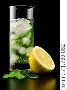 Лимонад со льдом. Стоковое фото, фотограф Вадим Францев / Фотобанк Лори