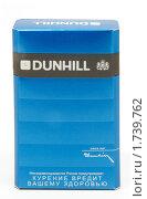 Купить «Пачка сигарет Dunhill», фото № 1739762, снято 14 мая 2010 г. (c) Андрей Андреев / Фотобанк Лори