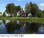 Купить «Деревянные церкви Руси», эксклюзивное фото № 1743546, снято 31 мая 2010 г. (c) Яна Королёва / Фотобанк Лори