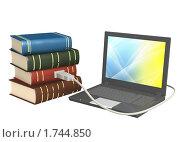 Купить «Электронные книги», иллюстрация № 1744850 (c) Лукиянова Наталья / Фотобанк Лори