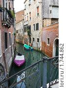 Купить «Канал в Венеции», фото № 1744862, снято 22 марта 2019 г. (c) Алексей Попов / Фотобанк Лори