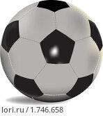 Купить «Футбольный мяч», иллюстрация № 1746658 (c) Алексей Григорьев / Фотобанк Лори