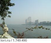 Река Нил в Каире (2007 год). Стоковое фото, фотограф Игорь Мим / Фотобанк Лори