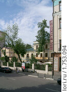 Купить «Гоголевский бульвар. Городская усадьба», фото № 1753094, снято 31 мая 2010 г. (c) Валерия Попова / Фотобанк Лори