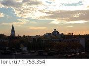 Купить «Кирха Луизы, возвышающаяся над городом», эксклюзивное фото № 1753354, снято 11 октября 2008 г. (c) Svet / Фотобанк Лори