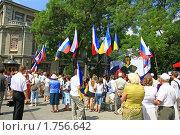 Празднование 211-летия великого Пушкина в Симферополе (2010 год). Редакционное фото, фотограф Кирилл Губа / Фотобанк Лори