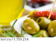 Купить «Маслины и оливки», фото № 1759214, снято 13 июля 2008 г. (c) Наталия Кленова / Фотобанк Лори