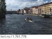 Река Фонтанка (2010 год). Редакционное фото, фотограф Александр Маркин / Фотобанк Лори