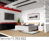 Купить «Интерьер современной спальни», иллюстрация № 1763922 (c) Алексей Кашин / Фотобанк Лори