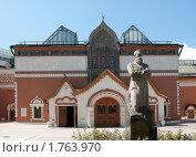 Купить «Третьяковская галерея. Москва», фото № 1763970, снято 6 июня 2010 г. (c) Екатерина Овсянникова / Фотобанк Лори