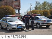 Купить «Инспекторы ДПС. Украина.», фото № 1763998, снято 28 апреля 2010 г. (c) Сычёва Татьяна / Фотобанк Лори