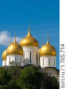 Купить «Москва. Кремль, Храм», фото № 1765714, снято 6 июня 2010 г. (c) Пантюшин Руслан / Фотобанк Лори