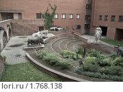 Купить «Внутренний двор Палеонтологического музея в Москве», фото № 1768138, снято 5 июня 2010 г. (c) Sergey Toronto / Фотобанк Лори