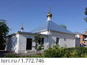 Купить «Свято-Ильинский храм Усть-Донецка», фото № 1772746, снято 13 июня 2010 г. (c) Александр Тихонов / Фотобанк Лори
