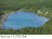 Купить «Озерцо в Хибинах», фото № 1775154, снято 1 августа 2009 г. (c) Охотникова Екатерина *Фототуристы* / Фотобанк Лори