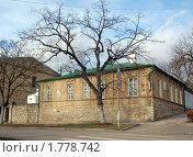 Купить «Дом генерала Верзилина в Пятигорске», фото № 1778742, снято 3 января 2010 г. (c) Владимир Горощенко / Фотобанк Лори
