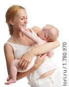 Купить «Мама с младенцем», фото № 1780970, снято 14 июня 2010 г. (c) Гладских Татьяна / Фотобанк Лори