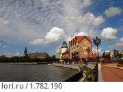 Купить «Красивый вид на набережную. Калининград», эксклюзивное фото № 1782190, снято 19 июня 2010 г. (c) Svet / Фотобанк Лори