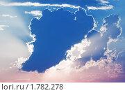 Купить «Большая туча закрывает солнце», фото № 1782278, снято 12 июня 2010 г. (c) Александр Романов / Фотобанк Лори