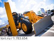 Купить «Выставка строительной техники», эксклюзивное фото № 1783654, снято 5 июня 2010 г. (c) Журавлев Андрей / Фотобанк Лори
