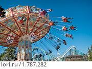 """Купить «Парк аттракционов """"Диво-остров"""" в Санкт-Петербурге», фото № 1787282, снято 1 мая 2009 г. (c) Кекяляйнен Андрей / Фотобанк Лори"""