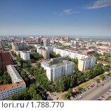 Купить «Уфа - вид на город с высоты птичьего полета», фото № 1788770, снято 17 июня 2010 г. (c) Михаил Коханчиков / Фотобанк Лори