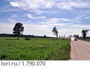 Купить «Автомобиль на грунтовой дороге», фото № 1790070, снято 6 июня 2010 г. (c) Александр Кокарев / Фотобанк Лори