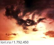 Демон в поднебесье. Стоковое фото, фотограф Клыков Станислав / Фотобанк Лори