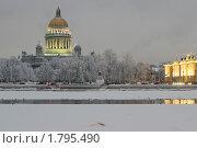 Купить «Зимний Санкт-Петербург», эксклюзивное фото № 1795490, снято 15 января 2010 г. (c) Александр Алексеев / Фотобанк Лори