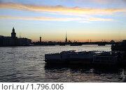 Купить «Белая ночь над Невой. Санкт-Петербург.», фото № 1796006, снято 27 июня 2009 г. (c) Светлана Кудрина / Фотобанк Лори