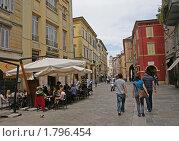 Купить «Уличное кафе в Парме, Италия», фото № 1796454, снято 1 мая 2010 г. (c) GrayFox / Фотобанк Лори